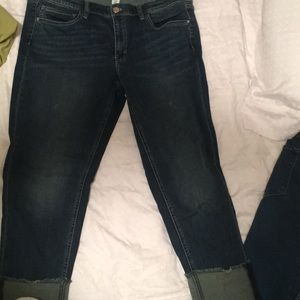 Brand new White house black market cropped jeans